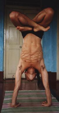 Model: Russel Kai Yamaguchi of New York Yoga