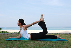 dhanurasana  string your bow pose  ihanuman
