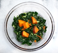 Sweet Potatoes and Greens