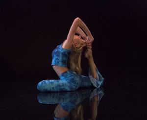 Model: Christine Martitz, Dive Into Yoga