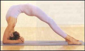Model: Kathleen Cunningham Credit: Clark Quinn, Yoga Journal 2001