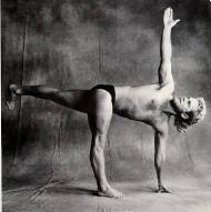 Model: George Purvis, Houston Iyengar Yoga