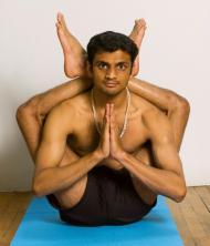 Model: Sharath Jois, Ashtanga Yoga
