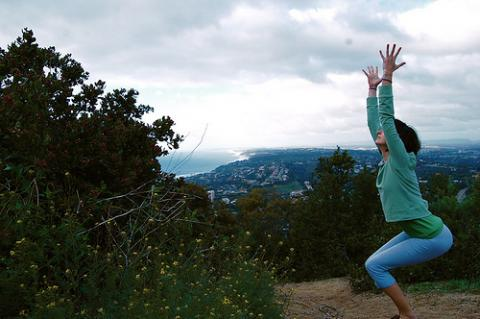 utkatasana  ihanuman  love service devotion yoga