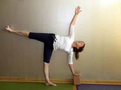 Bobby Clennell in Ardha Chandrasana