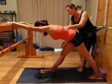 yoga for scoliosis, Narelle Carter-Quinlan, Australia