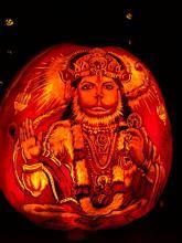 Hanuman Jack-o-Lantern Credit: Charles Wandag