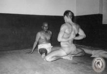 Model: Graeme with Sri K.Pattabhi Jois