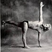Model: George Purvis, Houston Iyengar Yoga