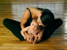 Baby and Me Yoga Credit: Jade Integrated Health, Portland ME