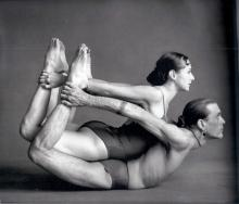 Sharon Gannon and David Life Credit: Jivamukti Yoga