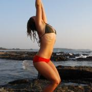 Utkatasana from Dharma Yoga and Ayurveda