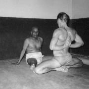 Model: Graeme with Sri K.Pattabhi Jois